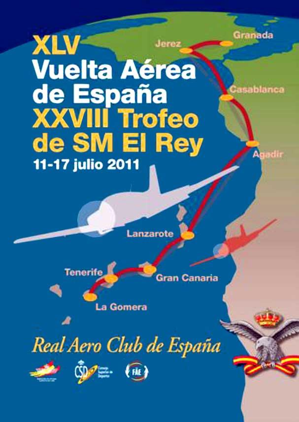 XLV Vuelta Aérea de España y XXVIII - Trofeo de S.M. el Rey